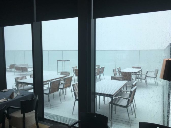 Nevicata a Soelden  - 1 settembre