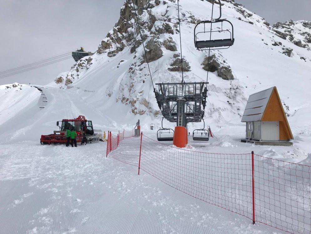 Bovec Kanin apre gli impianti, 1 metro di neve e skipass a 20€